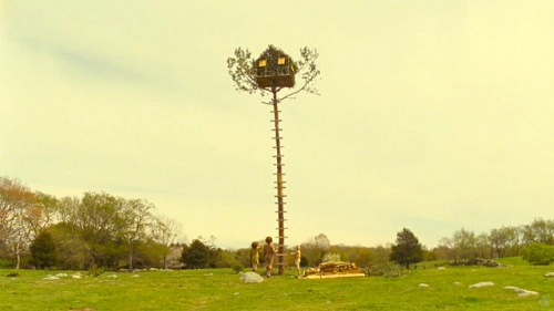 "The ""treehouse"" from Moonrise Kingdom. Tell me that isn't one of the greatest things you've ever seen."