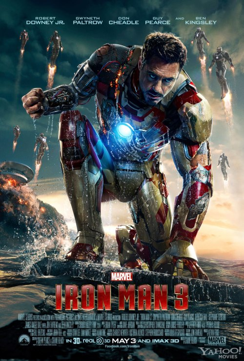 The poster for Iron Man 3.