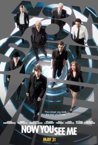 The poster for Now You See Me.